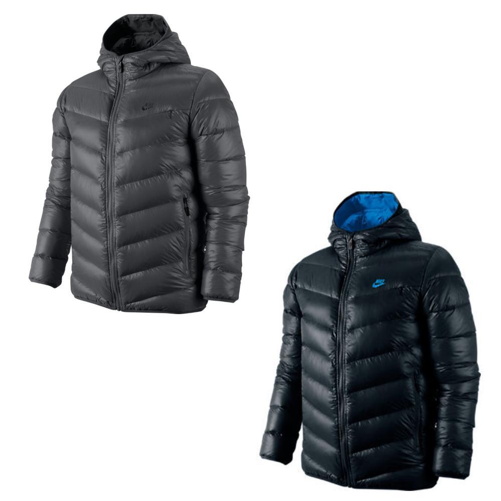 nike cascade 700 hooded down jacket jacke daunenjacke. Black Bedroom Furniture Sets. Home Design Ideas
