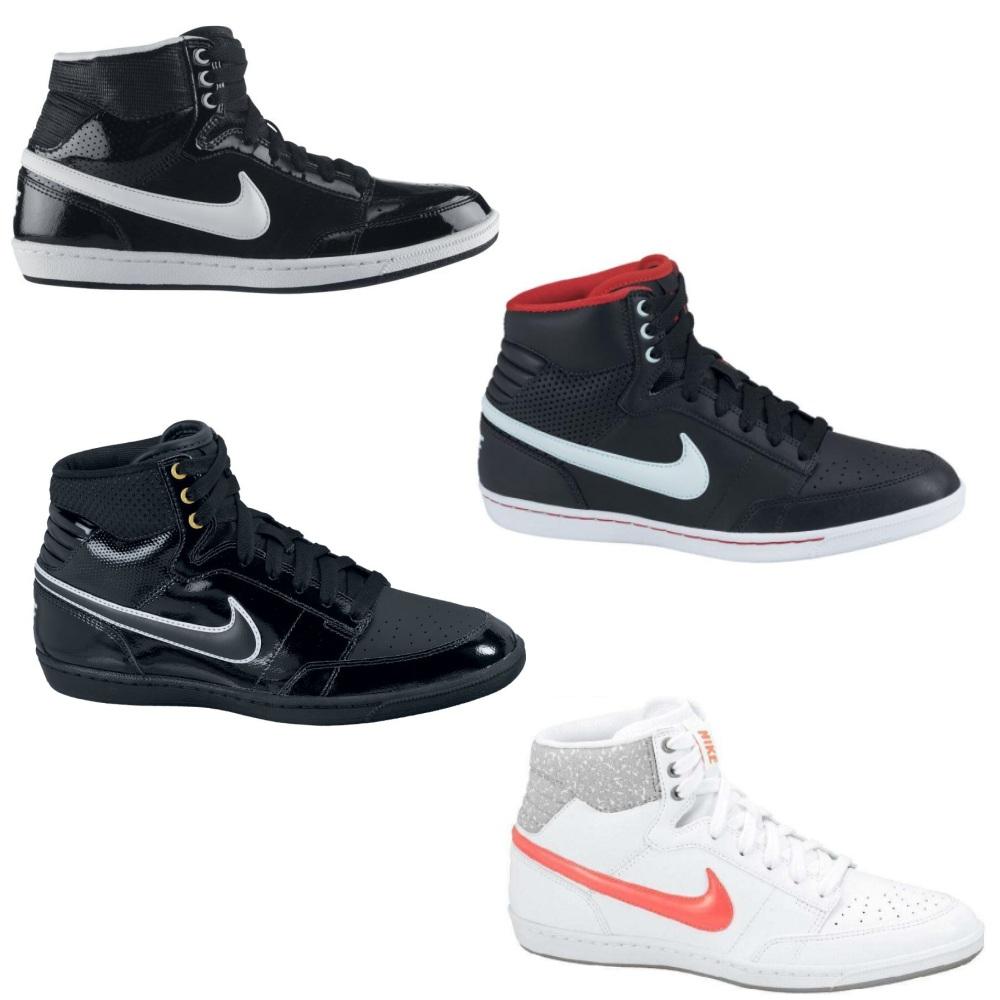 the best attitude e12cc 17b19 Afbeelding wordt geladen Nike-Double-Team-LT-Hi-Schuhe-Sneaker-High-