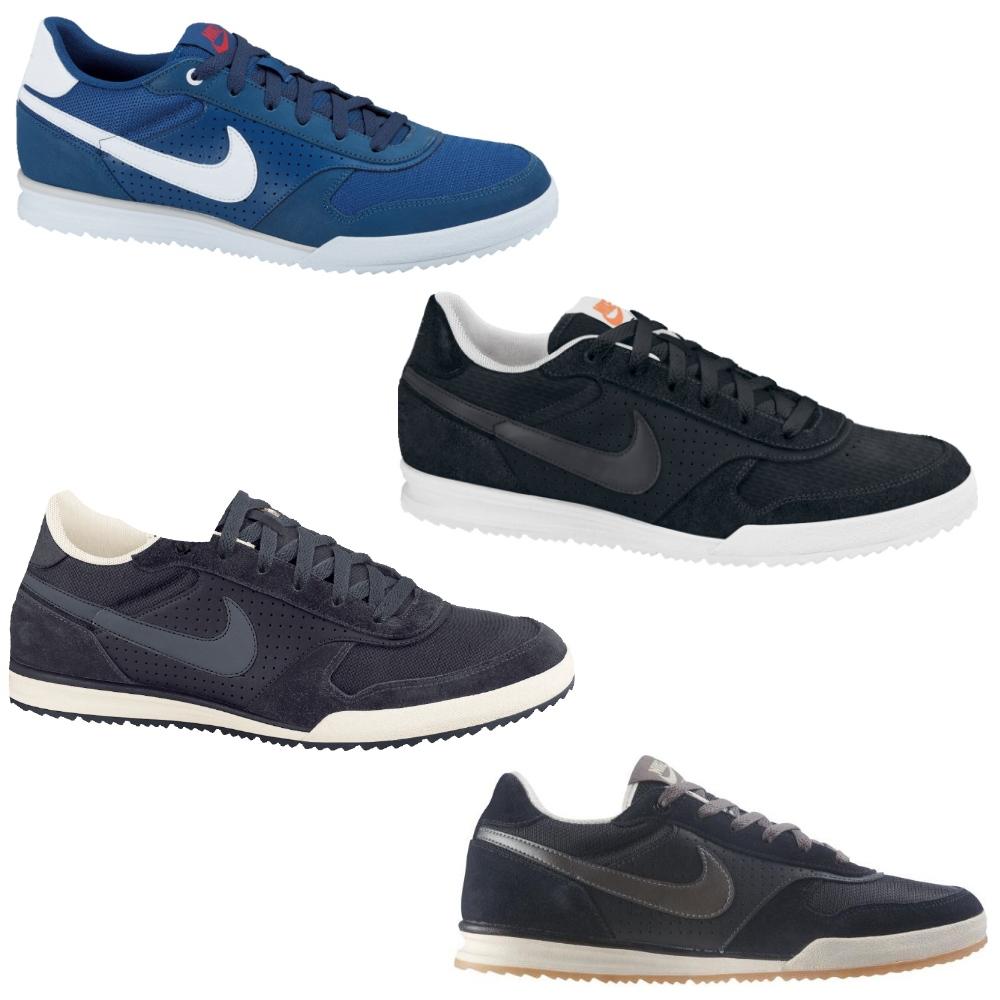 new concept e5ee9 01ac1 Das Bild wird geladen Nike-Field-Trainer-Textile-Schuhe-Sneaker-Herren-Blau-