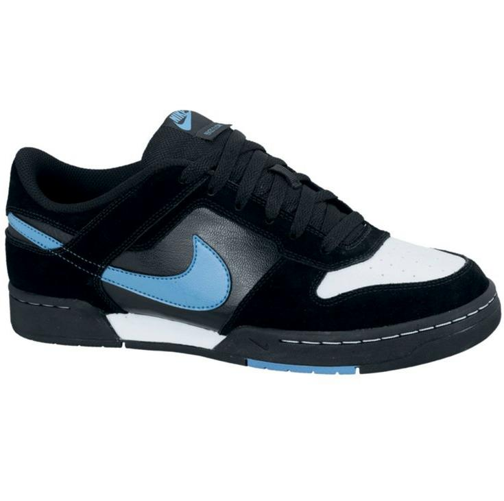 nike renzo 2 schuhe sneaker schwarz blau sportschuhe. Black Bedroom Furniture Sets. Home Design Ideas
