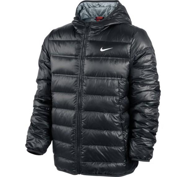 nike hooded lightweight down jacket jacke daunenjacke herren blau schwarz ebay. Black Bedroom Furniture Sets. Home Design Ideas