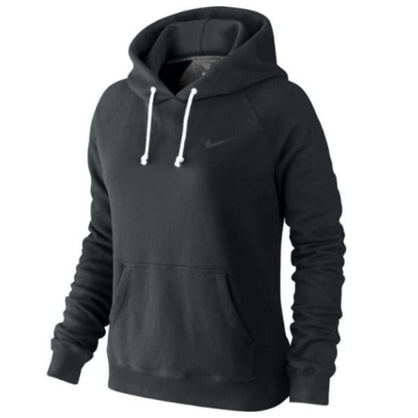 rally po hoody solid black schwarz anthrazit damen pullover sweatshirt. Black Bedroom Furniture Sets. Home Design Ideas