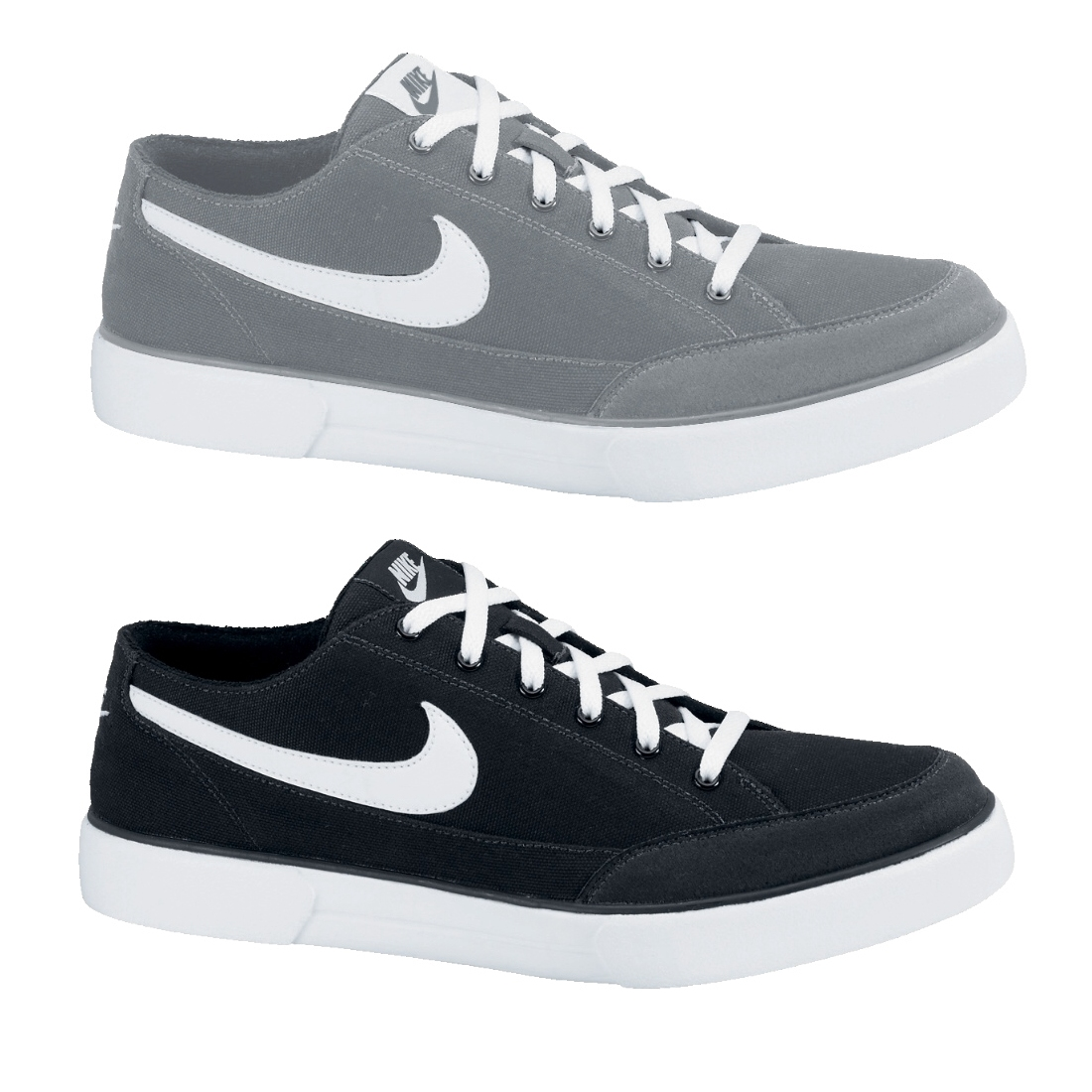 nike gts 12 canvas schuhe sneaker turnschuhe herren damen schwarz grau ebay. Black Bedroom Furniture Sets. Home Design Ideas