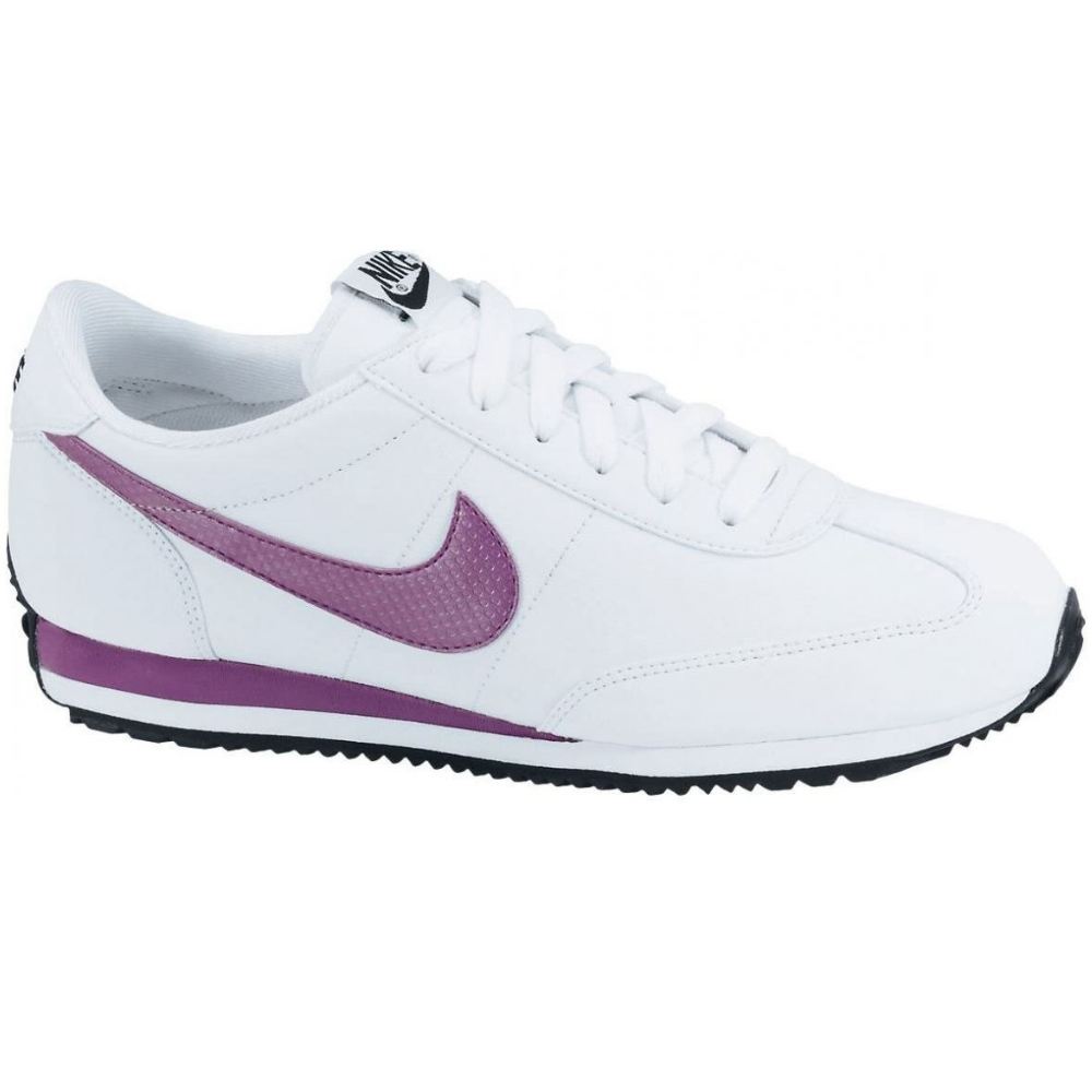 nike oceania leather white sneaker schuhe damen ebay. Black Bedroom Furniture Sets. Home Design Ideas