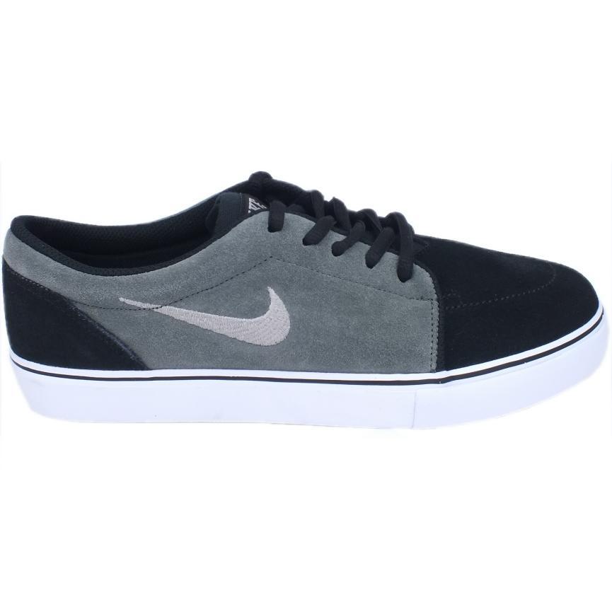 9c6560b72d021c Nike-Satire-Schuhe-Turnschuhe-Sneaker-Herren-Schwarz-Grau Indexbild