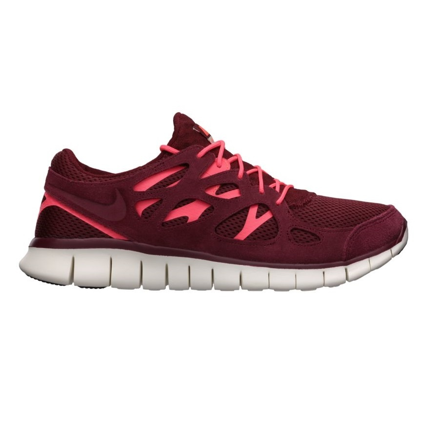 separation shoes 6fab6 86b99 nike free run 2 bordeaux rot