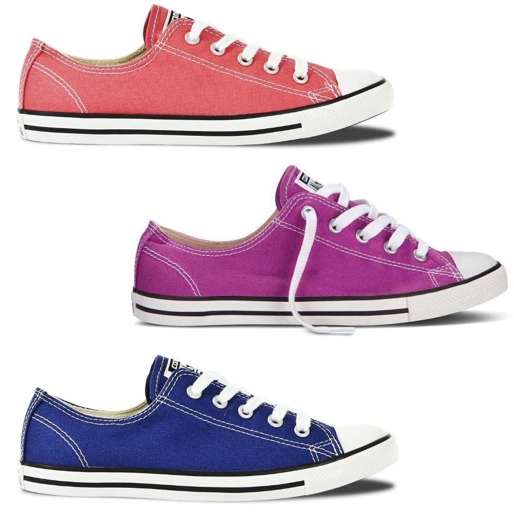 13b390cd6b74ce Converse All Star Chuck Taylor Dainty Ox Schuhe Sneaker Damen Rosa ...