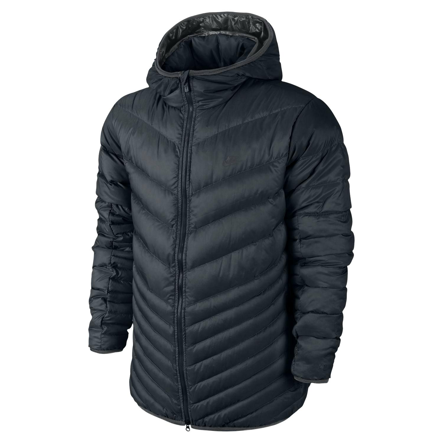 nike cascade down hooded jacket 700 cuin winterjacke. Black Bedroom Furniture Sets. Home Design Ideas