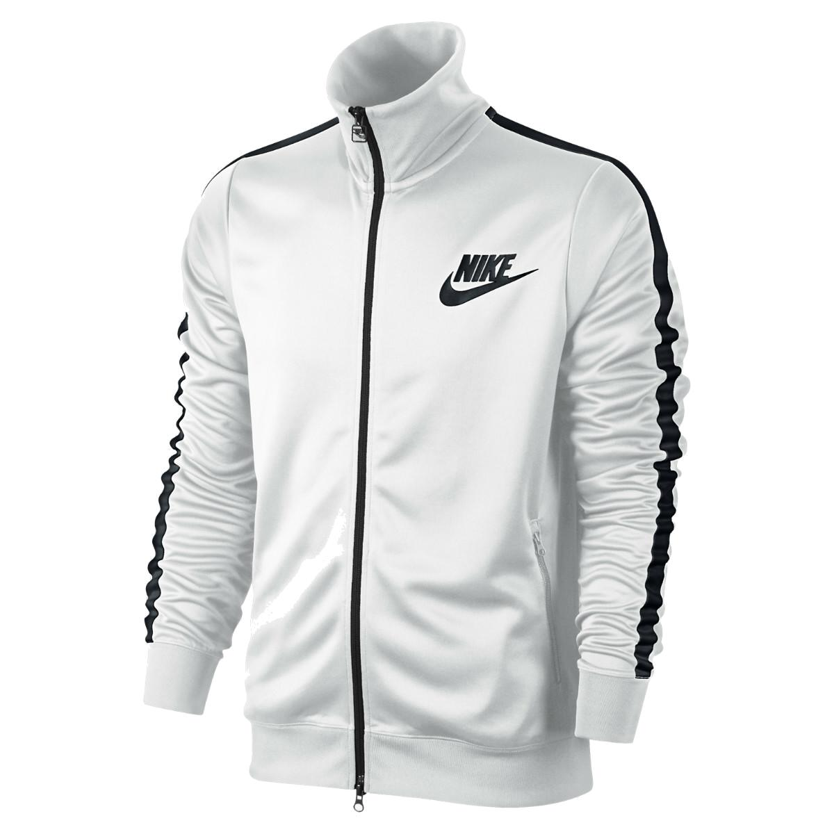 nike logo track jacket herren jacke trainingsjacke. Black Bedroom Furniture Sets. Home Design Ideas