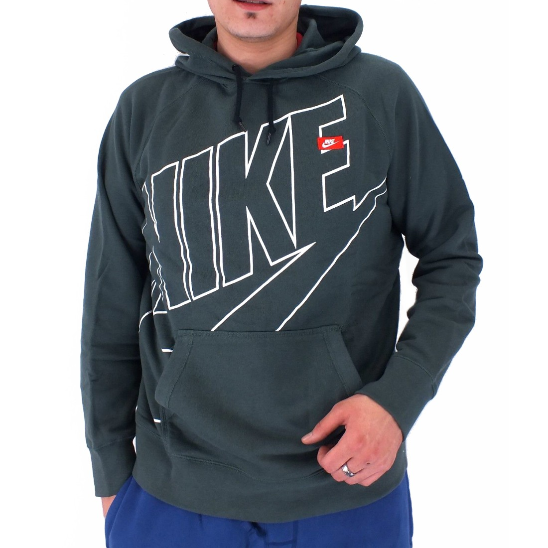 nike aw77 hoody logo exp pullover kapuzenpullover hoodie. Black Bedroom Furniture Sets. Home Design Ideas