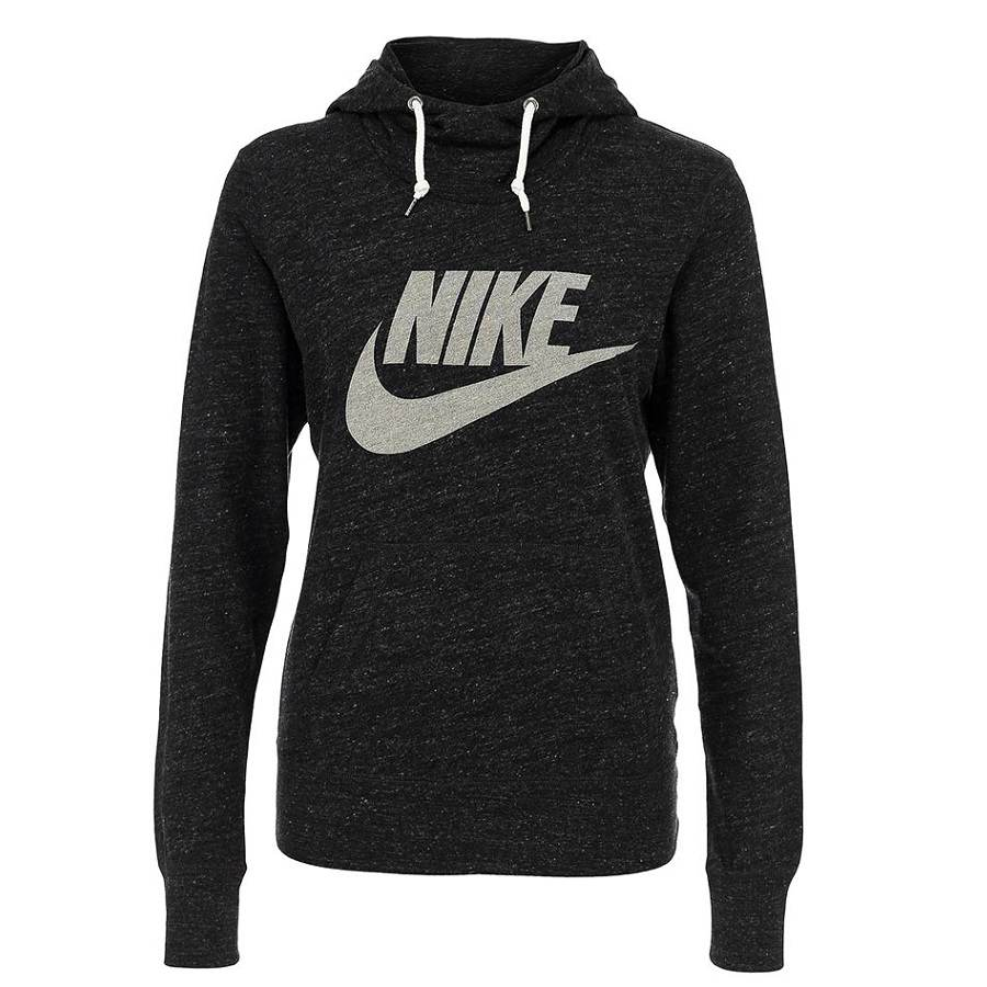 nike gym vintage hoodie pullover kapuzenpullover damen. Black Bedroom Furniture Sets. Home Design Ideas