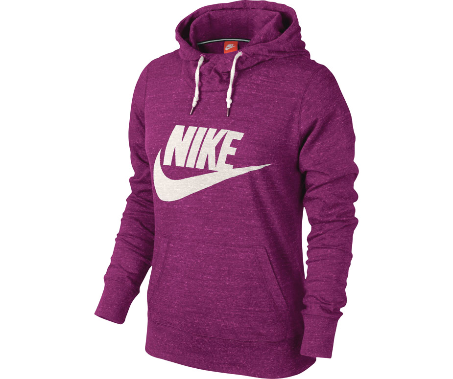 nike gym vintage hoody damen pullover kapuzenpullover sweatshirt grau blau pink ebay. Black Bedroom Furniture Sets. Home Design Ideas