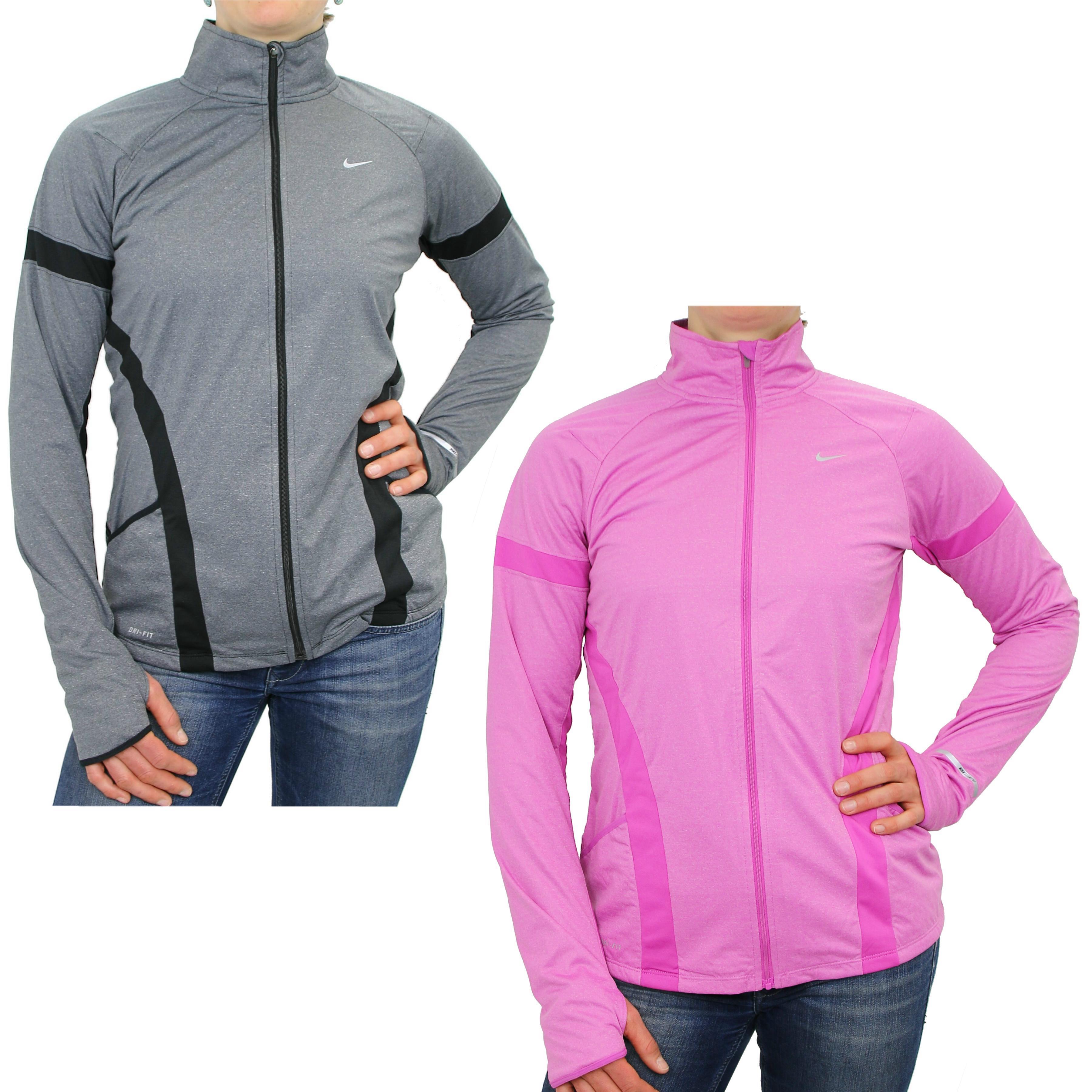 nike element shield jacket schwarz pink damen jacke sportjacke fitnessjacke ebay. Black Bedroom Furniture Sets. Home Design Ideas