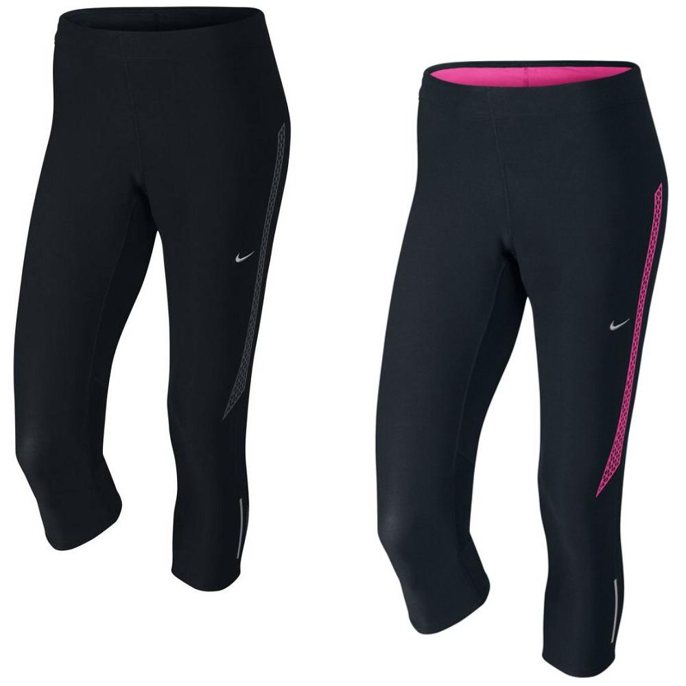 nike tech 2 capri hose sporthose laufhose leggings damen. Black Bedroom Furniture Sets. Home Design Ideas