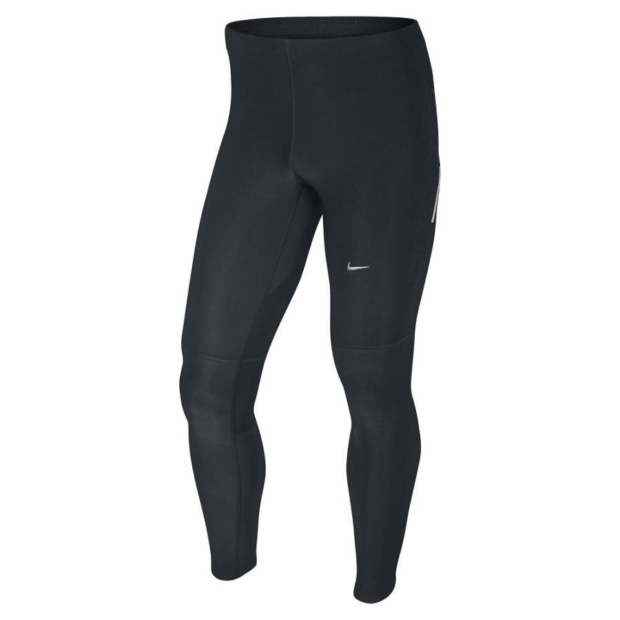 nike tech black hose leggings tights laufhose sport fitness herren schwarz ebay. Black Bedroom Furniture Sets. Home Design Ideas