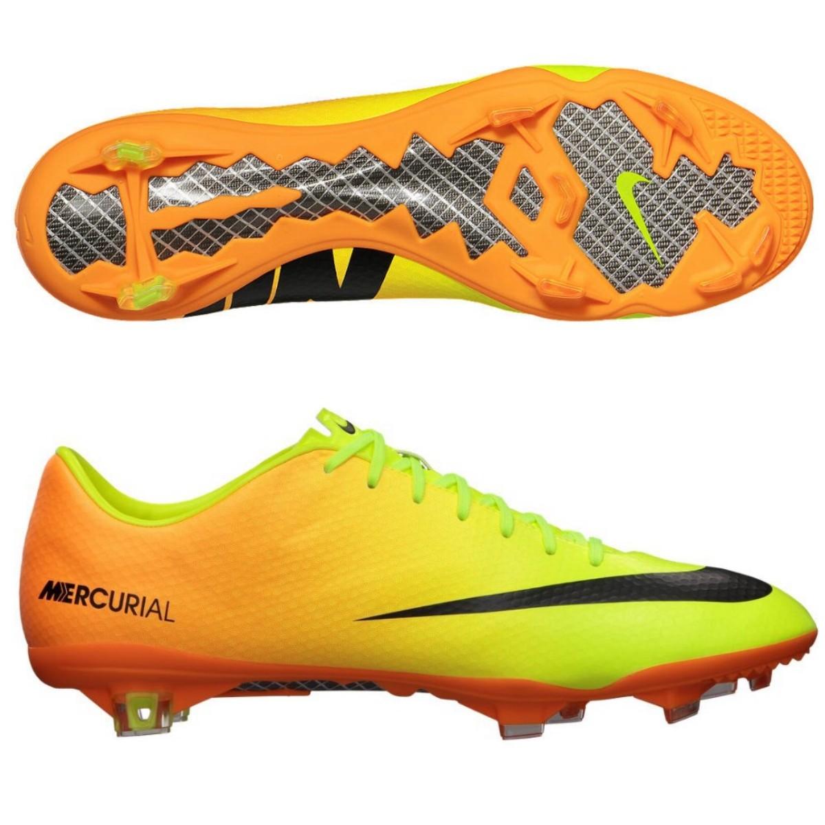 nike mercurial vapor ix fg shoes soccer shoes yellow cam. Black Bedroom Furniture Sets. Home Design Ideas