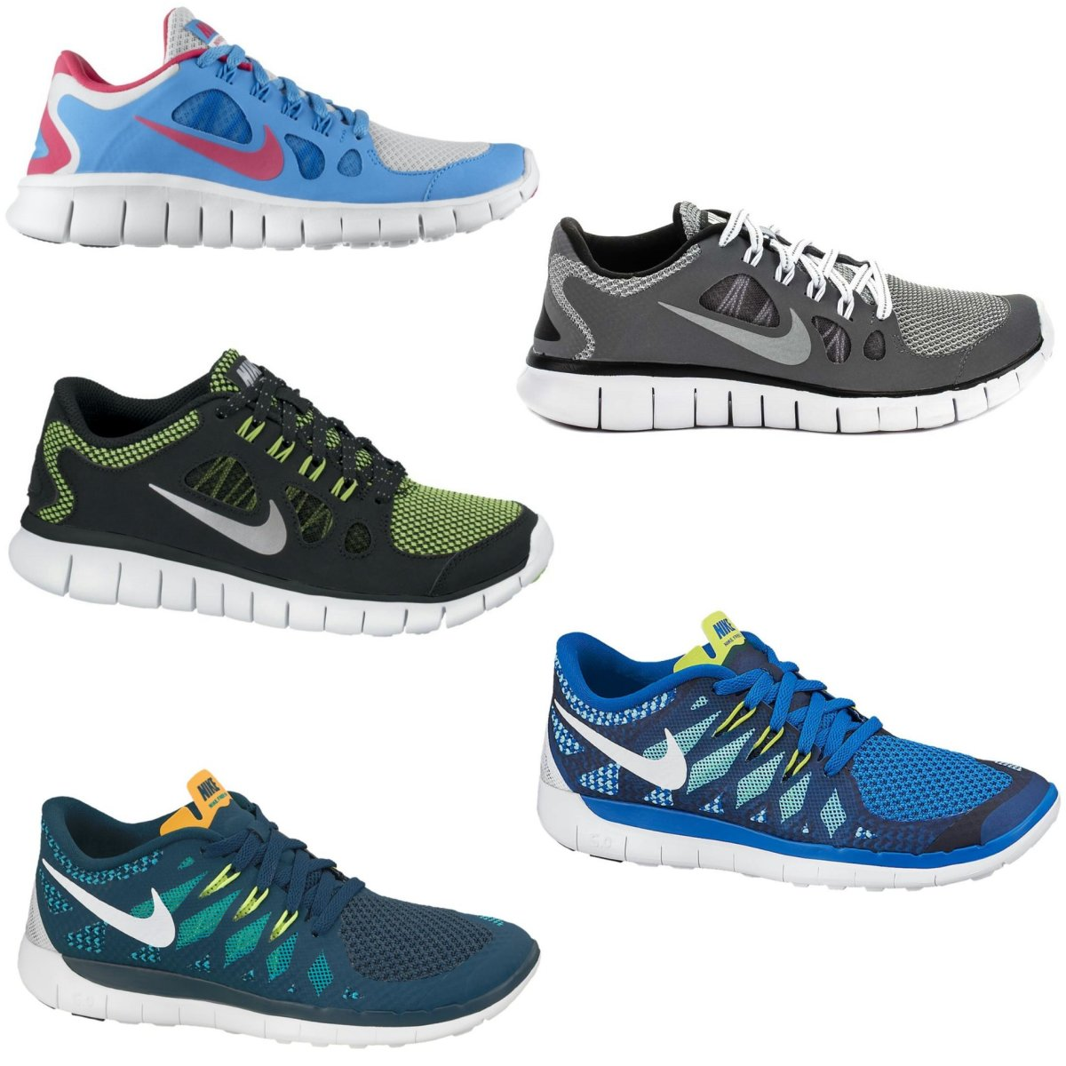 nike free 5 0 gs schuhe sportschuhe laufschuhe. Black Bedroom Furniture Sets. Home Design Ideas