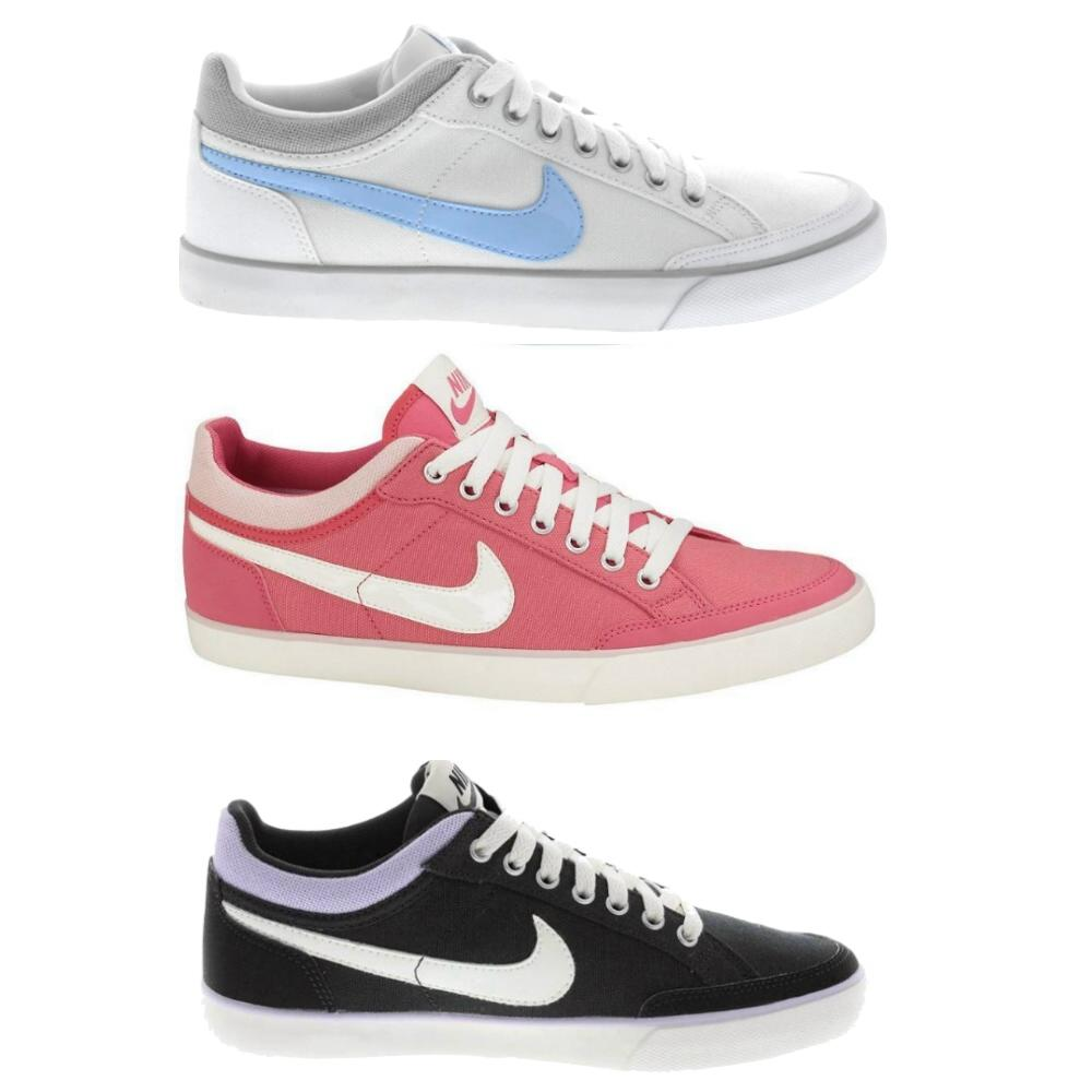 nike capri iii schuhe sneaker turnschuhe damen pink schwarz wei ebay. Black Bedroom Furniture Sets. Home Design Ideas