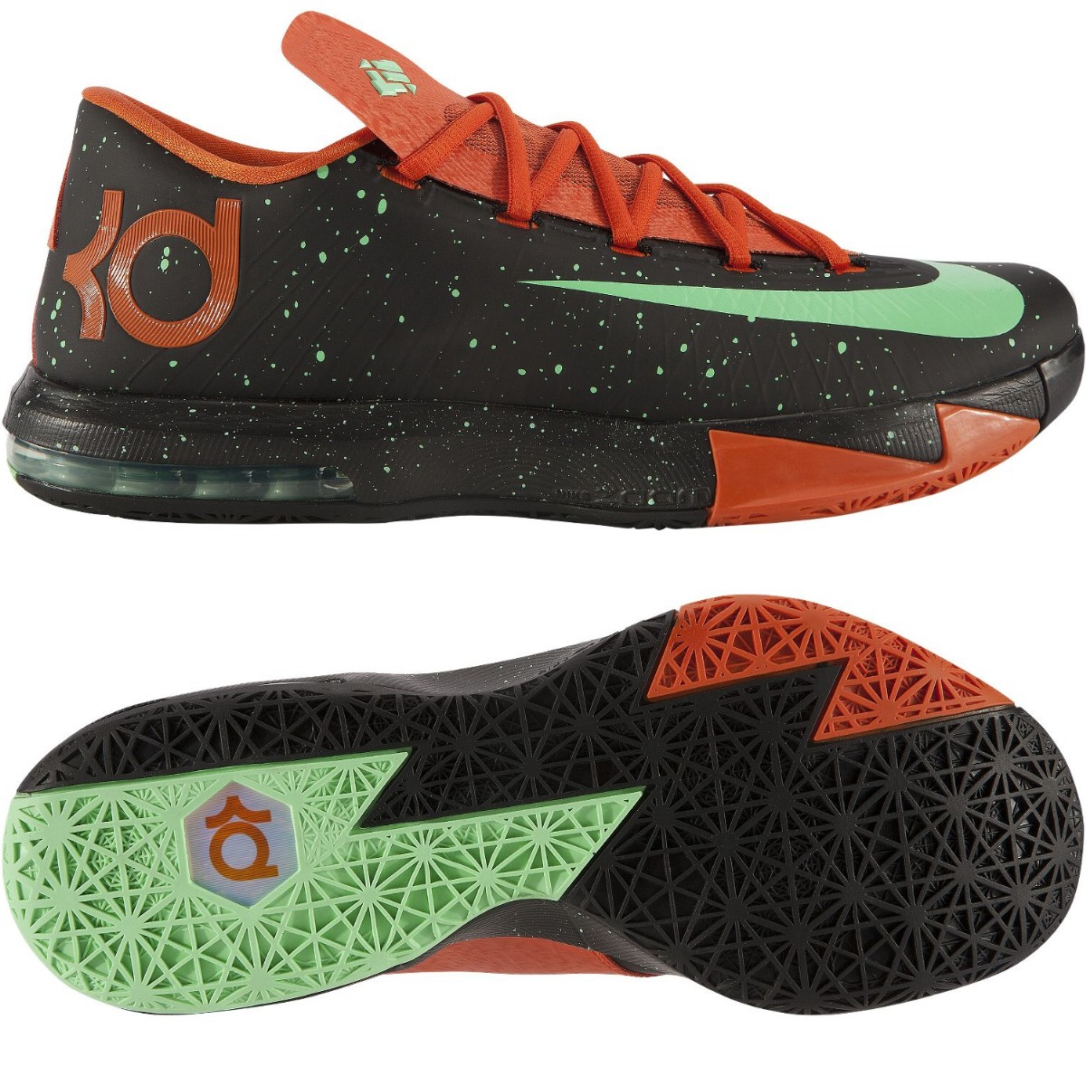 nike kd vi schuhe basketballschuhe hallenschuhe indoor herren gr 47 ebay. Black Bedroom Furniture Sets. Home Design Ideas