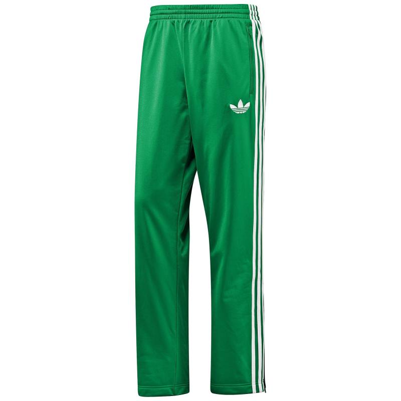 adidas firebird track pants hose gr n wei trainingshose. Black Bedroom Furniture Sets. Home Design Ideas