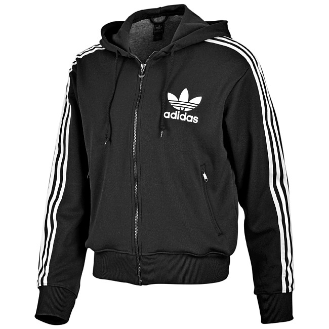 adidas hoodie flock tt schwarz wei neu hoody jacke xl ebay. Black Bedroom Furniture Sets. Home Design Ideas