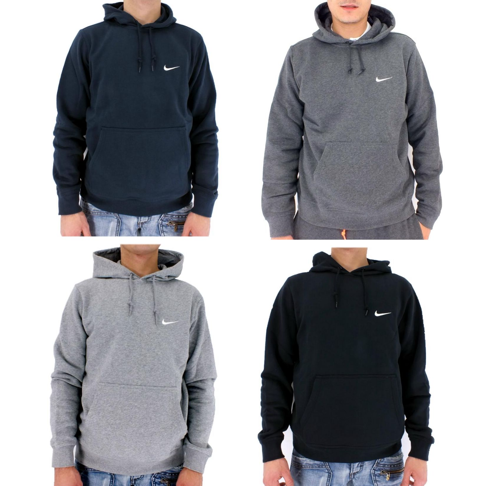 nike club swoosh pullover hoodie kapuzenpullover herren. Black Bedroom Furniture Sets. Home Design Ideas