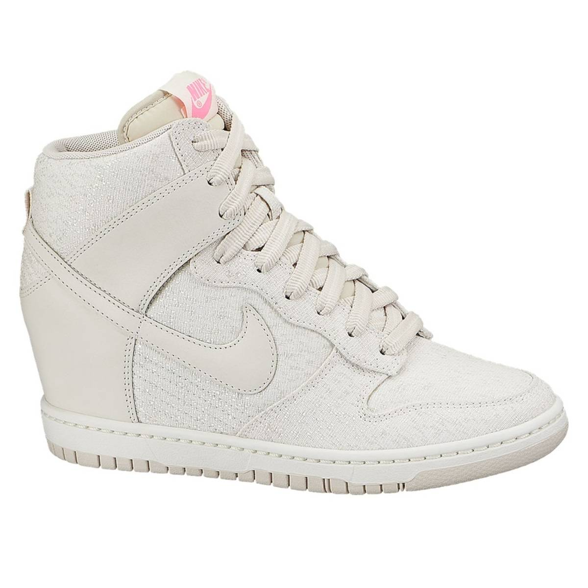 nike dunk sky hi txt schuhe turnschuhe sneaker keilabsatz damen wei lila ebay. Black Bedroom Furniture Sets. Home Design Ideas