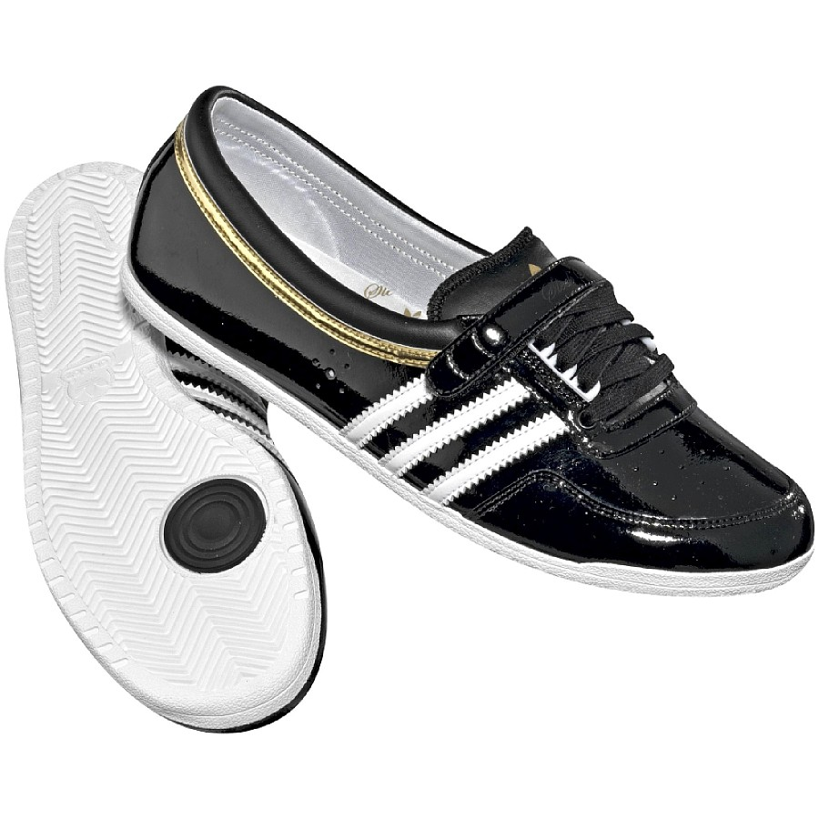 adidas originals concord round damen schuhe ballerinas sneaker schwarz wei ebay. Black Bedroom Furniture Sets. Home Design Ideas