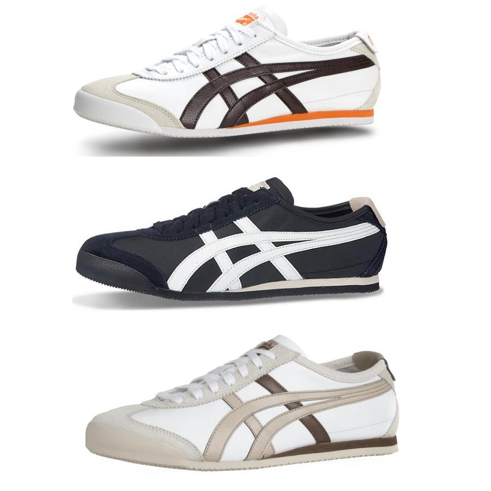 online store 1716a 4f691 Das Bild wird geladen Asics-HL7C2-Onitsuka-Tiger-Mexico-66 -Schuhe-Turnschuhe-