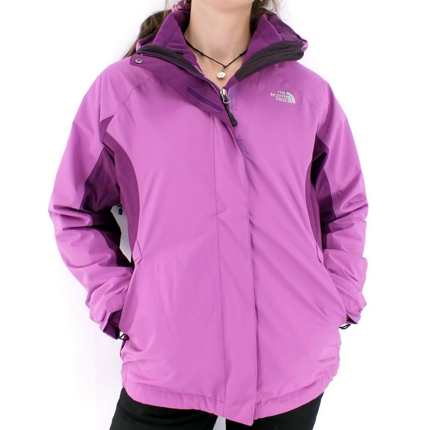 The-NORTH-FACE-EVOLVE-TRICLIMATE-Giacca-3-in-1-Giacca-Invernale-Outdoor-Da-Donna