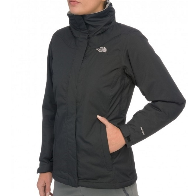 the north face highland jacket jacke winterjacke wasserdicht damen schwarz. Black Bedroom Furniture Sets. Home Design Ideas