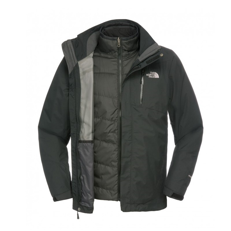 the north face solaris triclimate jacket herren jacke. Black Bedroom Furniture Sets. Home Design Ideas
