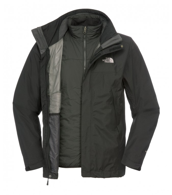 the north face stratosphere triclimate jacket schwarz. Black Bedroom Furniture Sets. Home Design Ideas