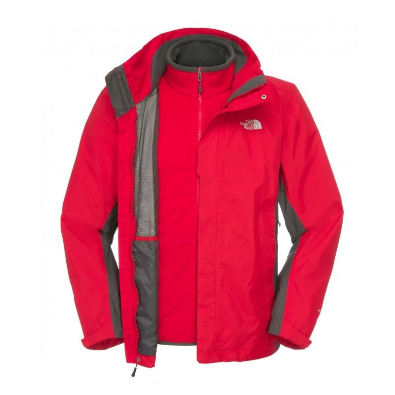 The-North-Face-Evolution-II-Triclimate-Jacket-Outdoor-Herren-Jacke-Rot-3-in-1