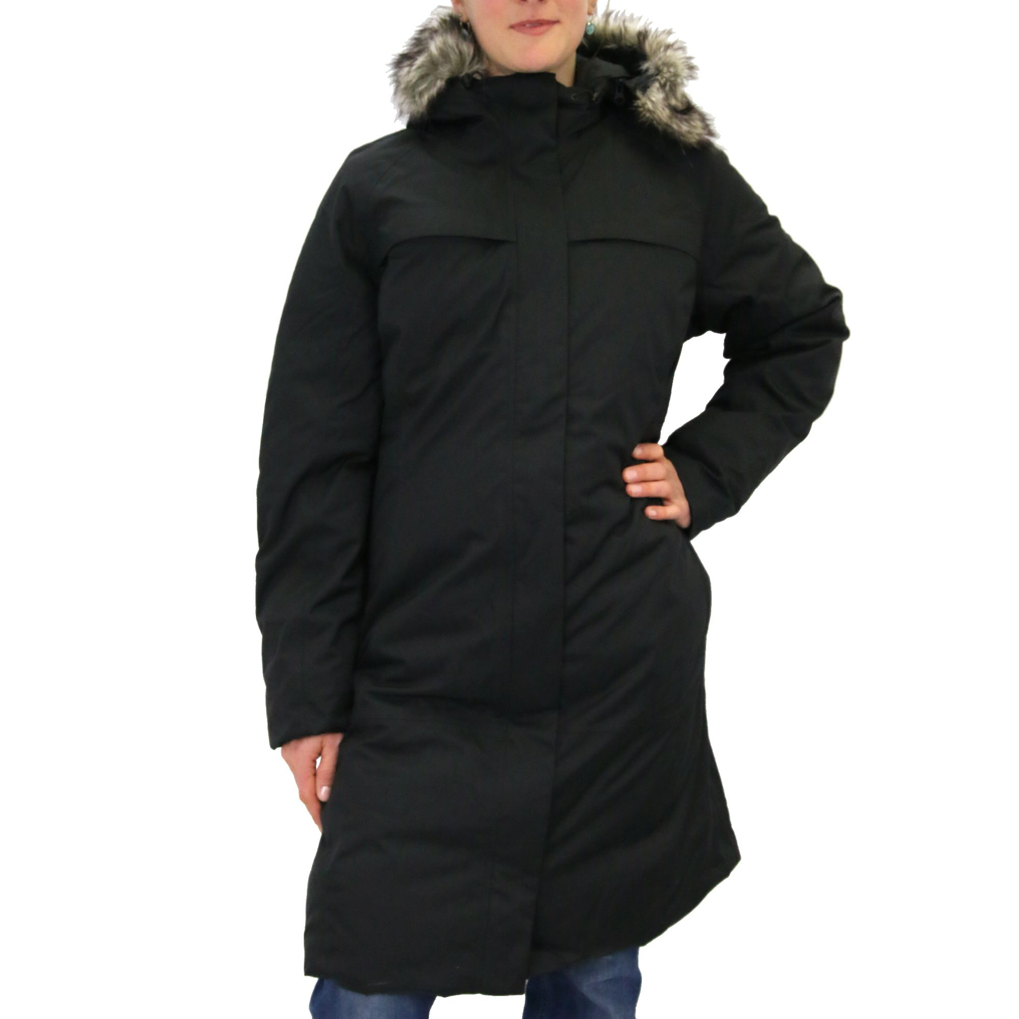 the north face arctic parka ladies coat winter coat winter jacket down coat ebay. Black Bedroom Furniture Sets. Home Design Ideas