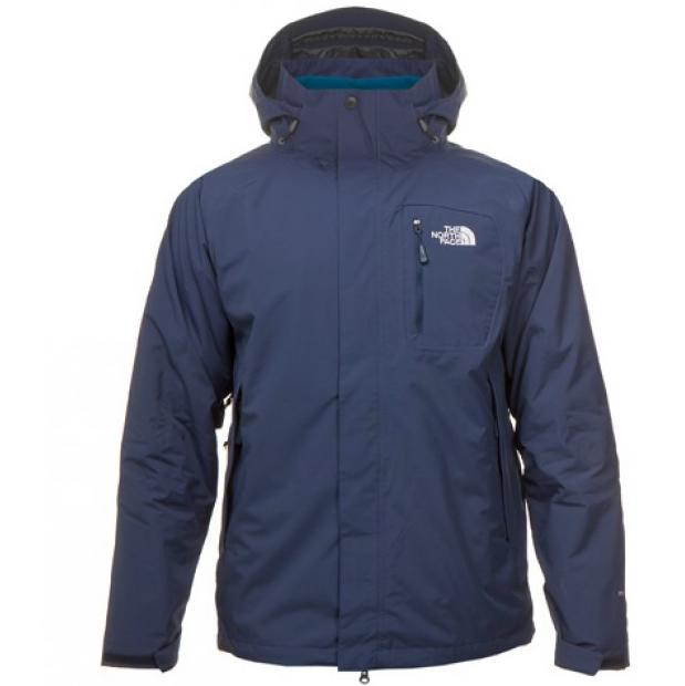 the north face atlas triclimate jacket jacke herren blau. Black Bedroom Furniture Sets. Home Design Ideas
