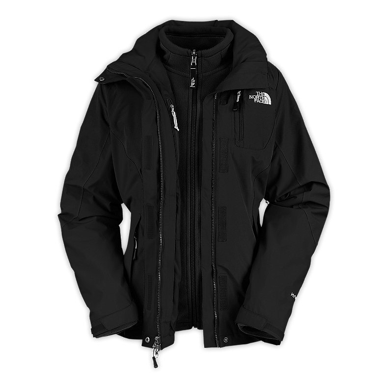 the north face atlas triclimate jacke damen schwarz ebay. Black Bedroom Furniture Sets. Home Design Ideas