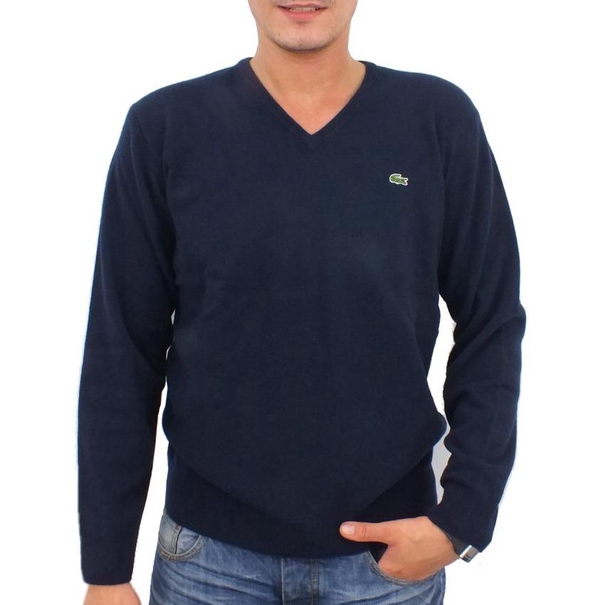 lacoste pullover wollpullover strickpullover v ausschnitt wolle herren. Black Bedroom Furniture Sets. Home Design Ideas