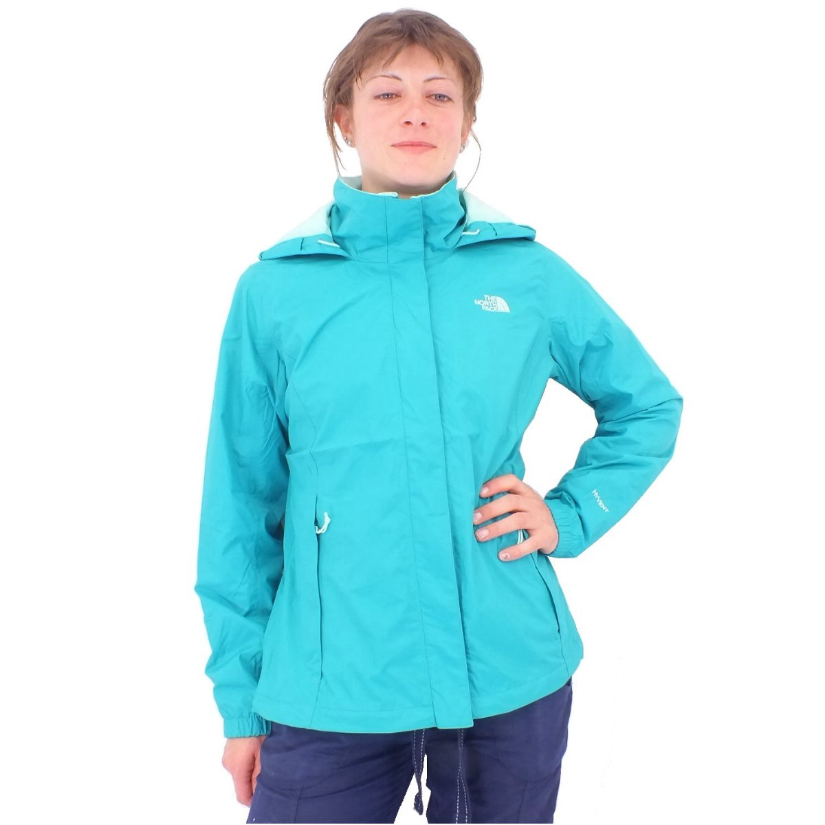 the north face resolve damen jacke windjacke regenjacke hyvent ebay. Black Bedroom Furniture Sets. Home Design Ideas
