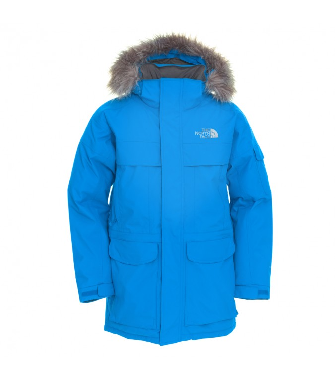 the north face mcmurdo parka winterjacke winter jacke mantel daunen herren blau ebay. Black Bedroom Furniture Sets. Home Design Ideas