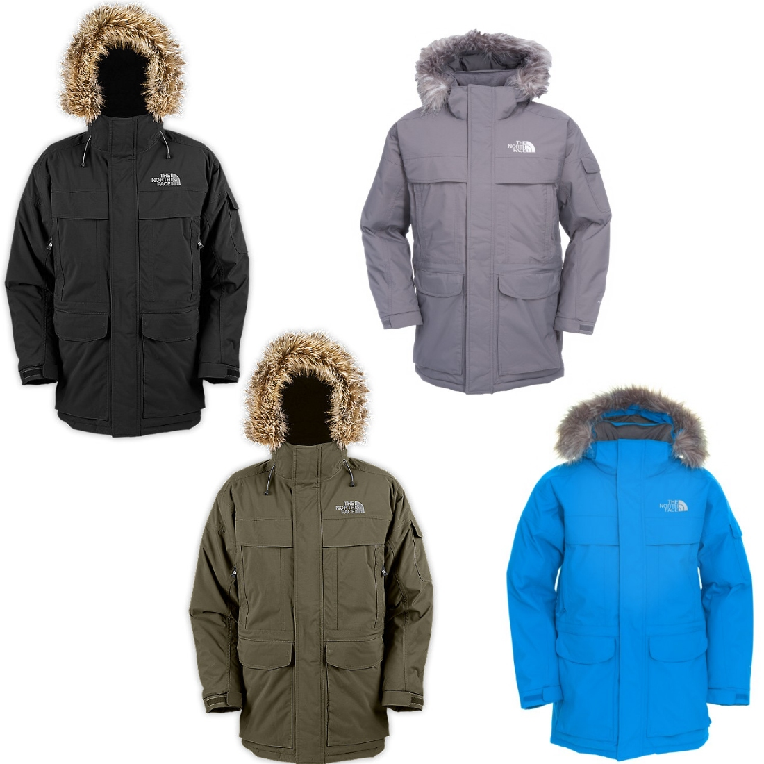 the north face mcmurdo parka jacke winterjacke wintermantel daunen herren ebay. Black Bedroom Furniture Sets. Home Design Ideas