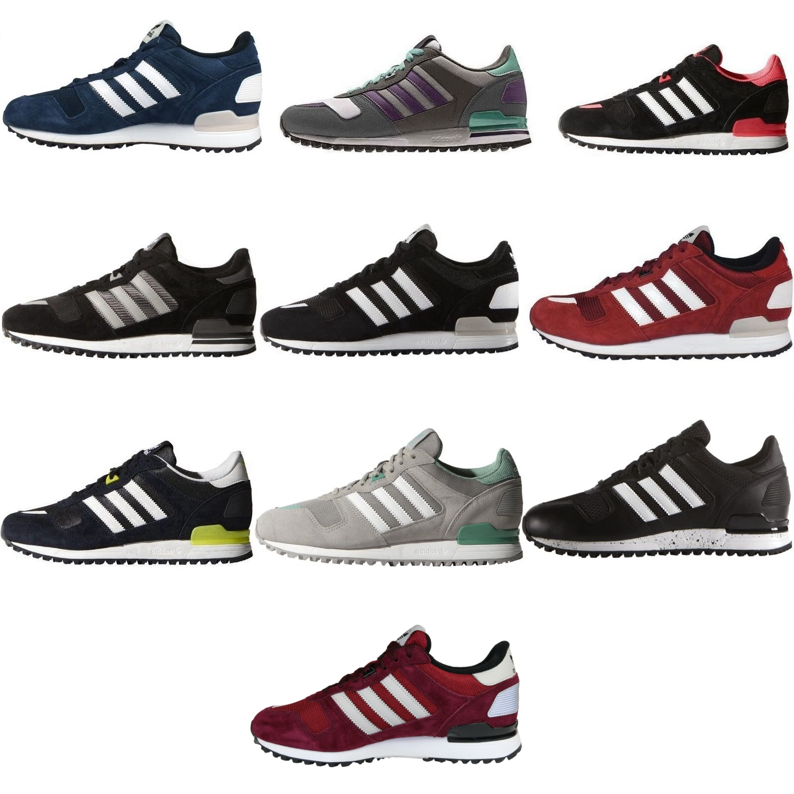 adidas originals zx 700 herren damen schuhe turnschuhe. Black Bedroom Furniture Sets. Home Design Ideas