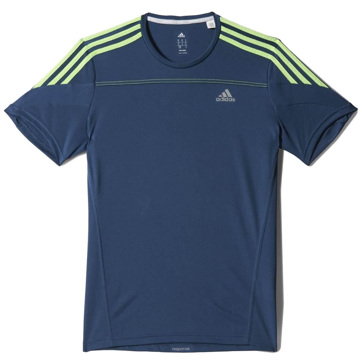 adidas response t shirt running shirt men various colours. Black Bedroom Furniture Sets. Home Design Ideas