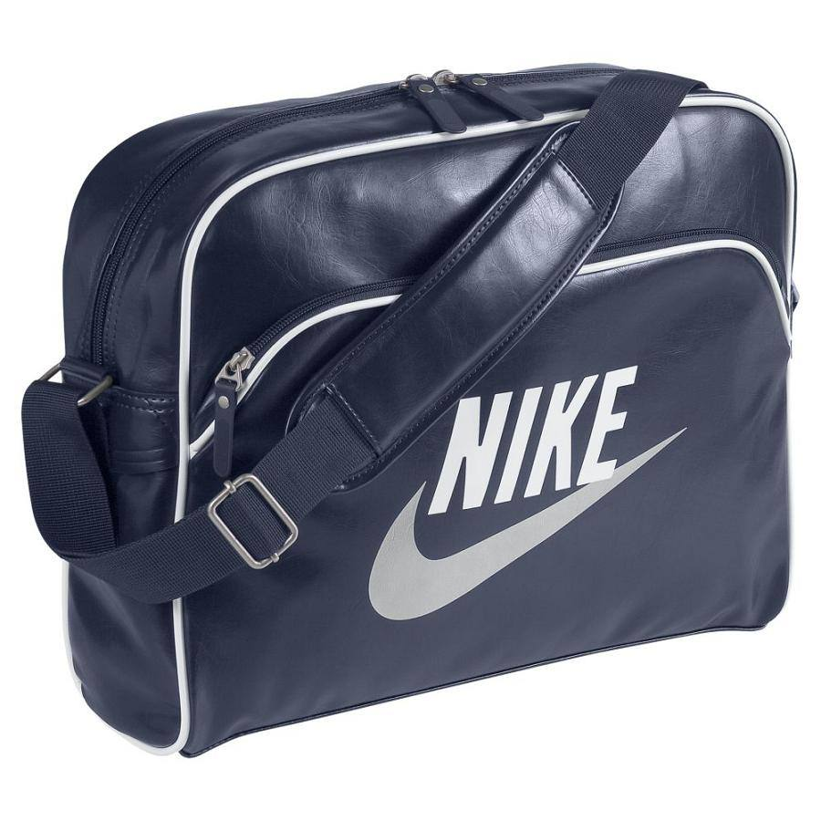 nike heritage si tasche umh ngetasche schultertasche damen herren blau rot. Black Bedroom Furniture Sets. Home Design Ideas