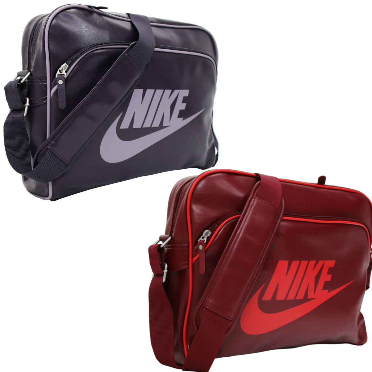 nike heritage si tasche umh ngetasche schultertasche damen herren diverse farben ebay. Black Bedroom Furniture Sets. Home Design Ideas