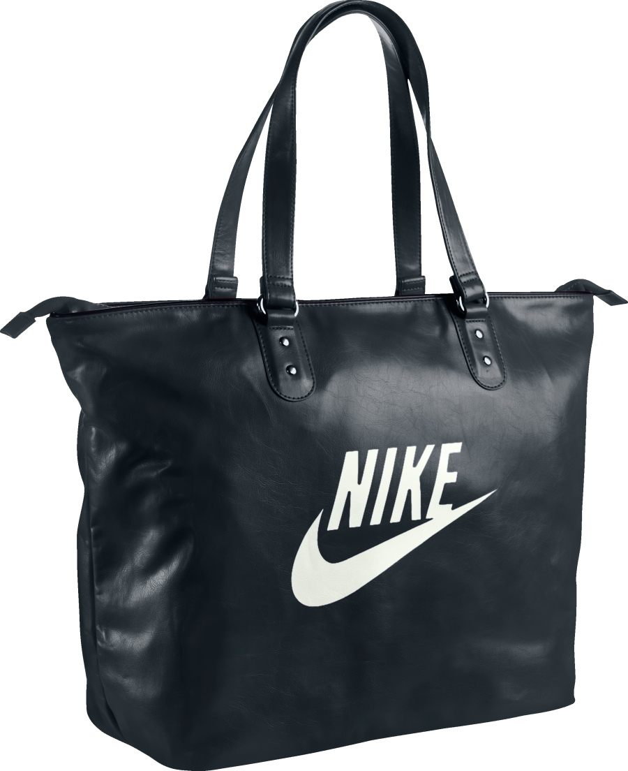 nike heritage si tote shopper tasche schultertasche damen schwarz blau ebay. Black Bedroom Furniture Sets. Home Design Ideas