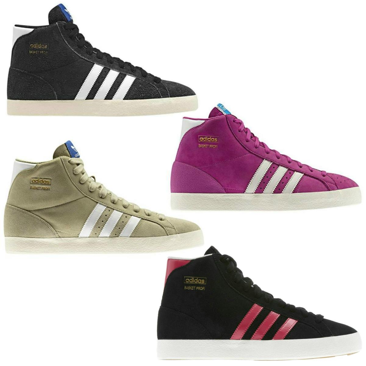 adidas originals basket profi schuhe high top sneaker damen herren. Black Bedroom Furniture Sets. Home Design Ideas