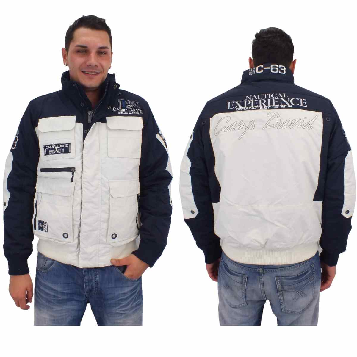 camp david cape horn jacket i cd jacket winter jacket functional jacket men ebay. Black Bedroom Furniture Sets. Home Design Ideas
