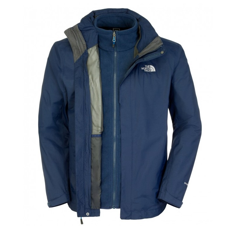 The-NORTH-FACE-EVOLUTION-II-TRICLIMATE-JACKET-Outdoor-Giacca-Uomo-Rosso-3-in-1