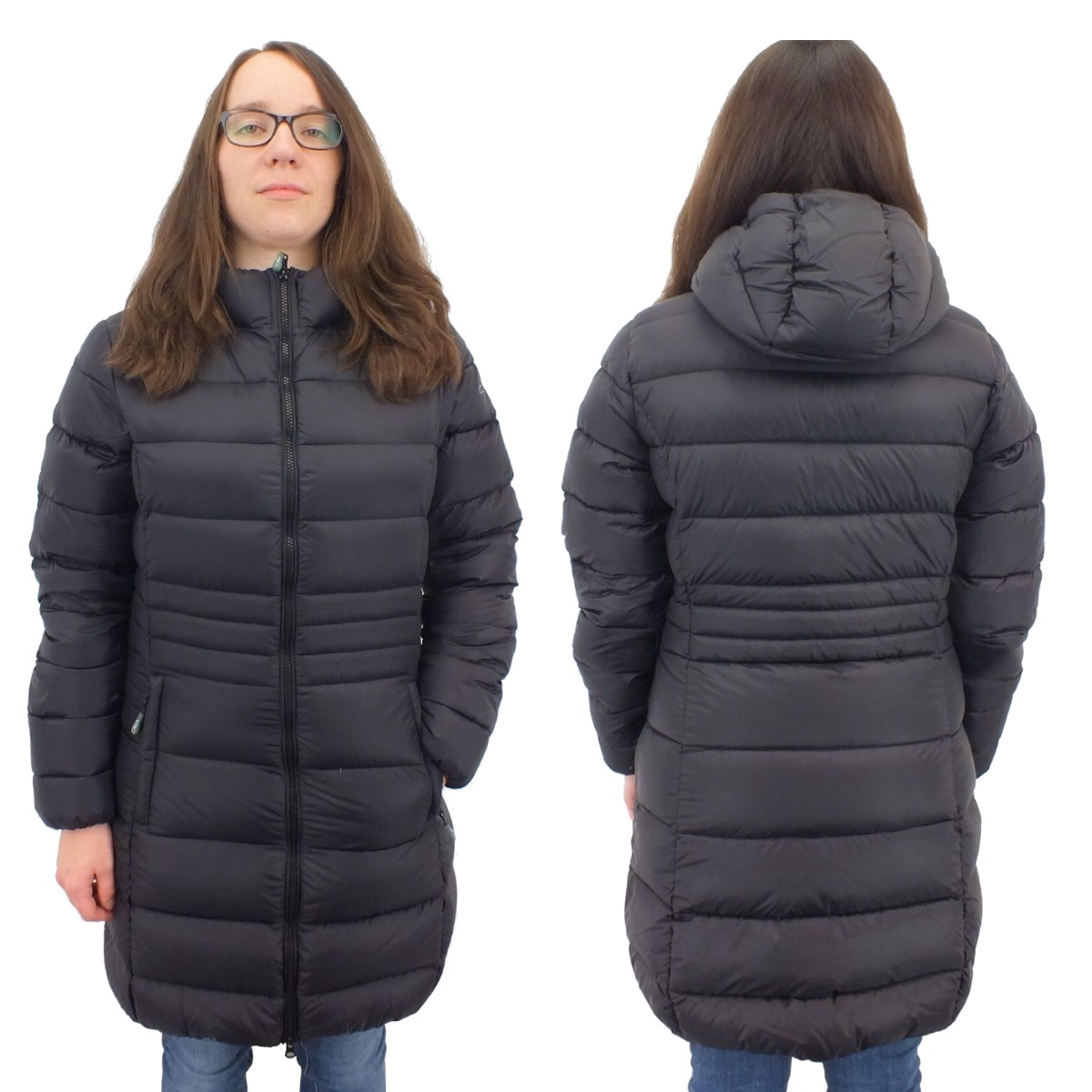 cmp campagnolo coat fix hood daunenmantel. Black Bedroom Furniture Sets. Home Design Ideas